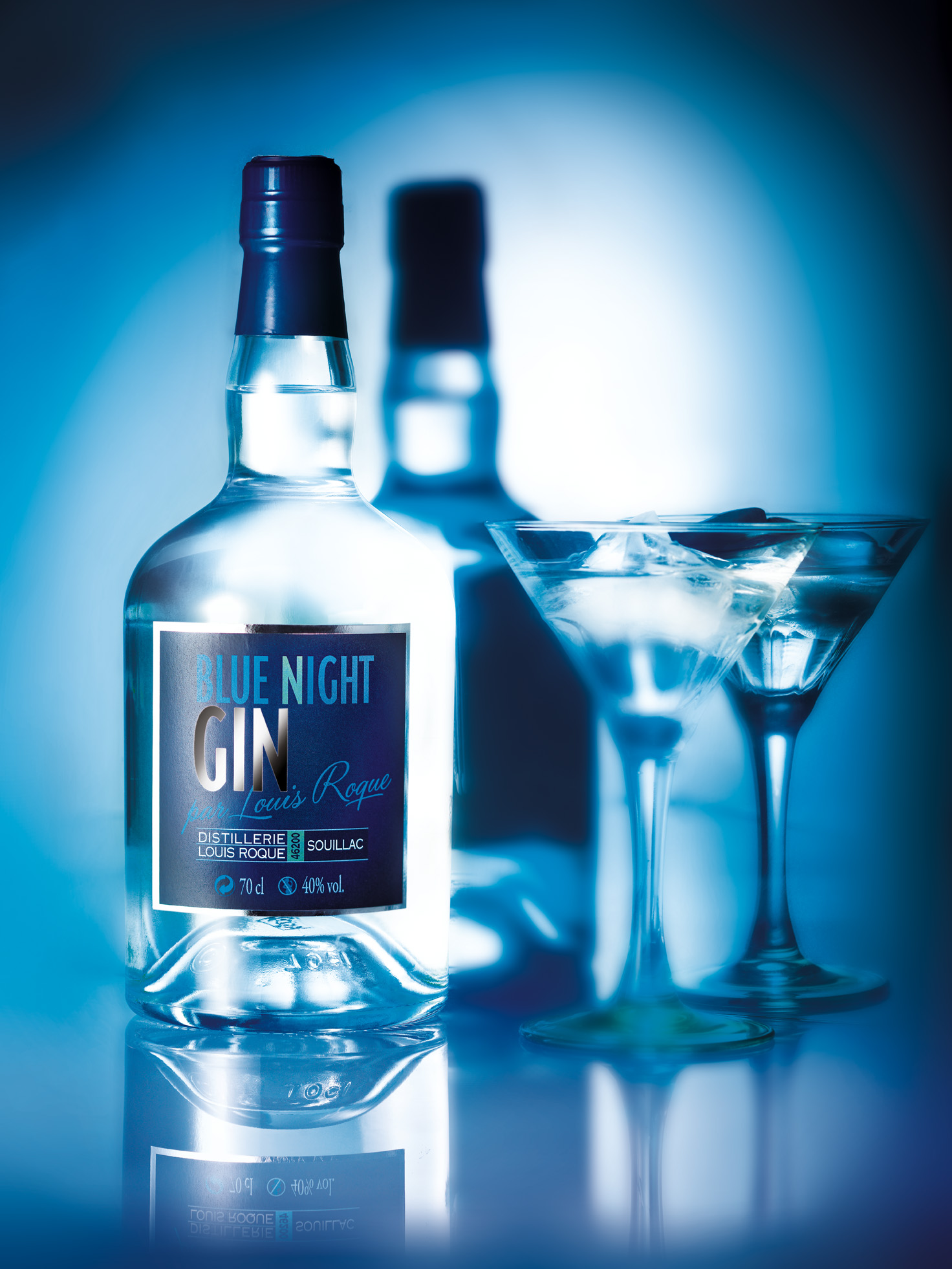 Blue Night Gin